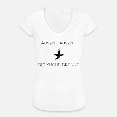 Advent Advent - Frauen Vintage T-Shirt