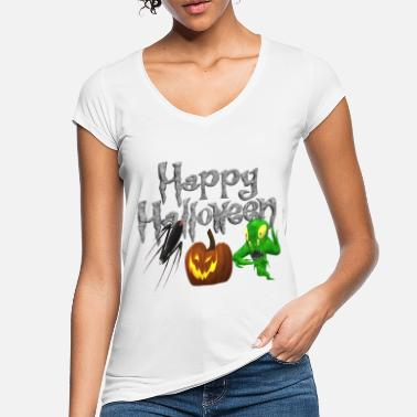 Monster Halloween - Frauen Vintage T-Shirt