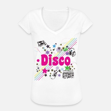 Disco 70s - Oldies 70s - 70s Party - Naisten vintage t-paita
