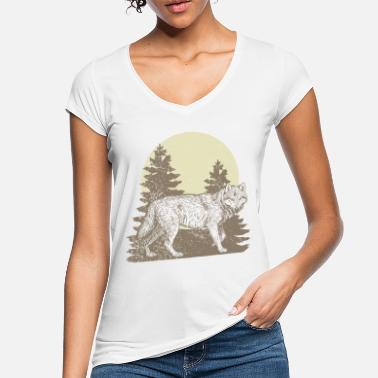 Wolfpack wolf - Women's Vintage T-Shirt