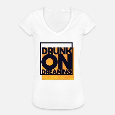 DRUNK ON DREAMING - Vintage-T-shirt dam