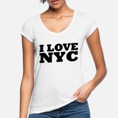 Nyc I love nyc / new york city - Frauen Vintage T-Shirt