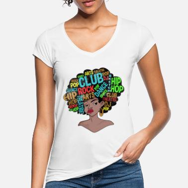 Old Afro Retro Disco 70s Shirt - Women's Vintage T-Shirt