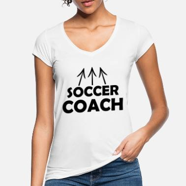 I Love Football Coach - Women's Vintage T-Shirt