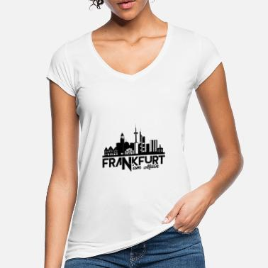 Frankfurt Am Main Frankfurt am Main - Vrouwen vintage T-Shirt
