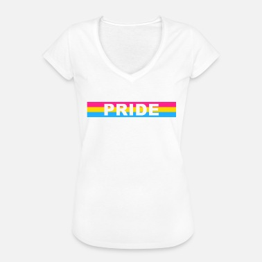 Pansexual Pansexual PRIDE - T-shirt vintage Femme