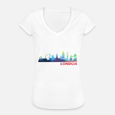 Queen London London - Women's Vintage T-Shirt