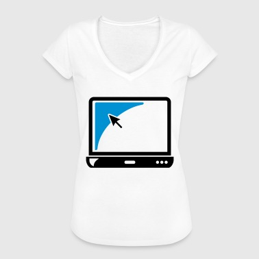 Notebook Laptop Gift - Vrouwen Vintage T-shirt