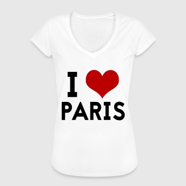 I love Paris - Frauen Vintage T-Shirt