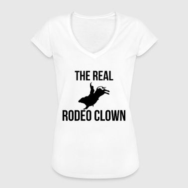 Rodeo - Payaso - Circo occidental - Regalo - Caballo - Camiseta vintage mujer