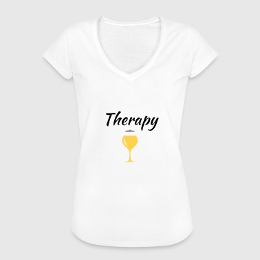 White wine - Women's Vintage T-Shirt