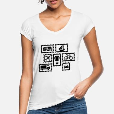 Stamp Stamps - Women's Vintage T-Shirt