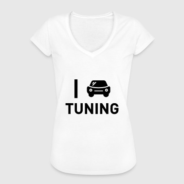 Afstemming optimaliseer de chiptuning - Vrouwen Vintage T-shirt