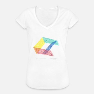 Eiger Abstract design graffiti eiger fences skater ramp - Women's Vintage T-Shirt