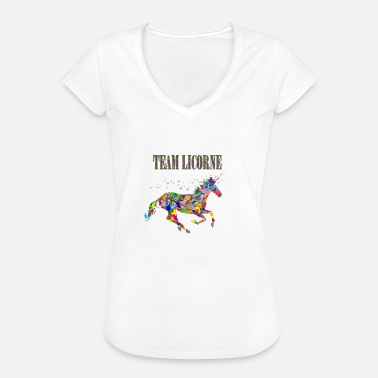 Unicorn Team Team Unicorn - Frauen Vintage T-Shirt