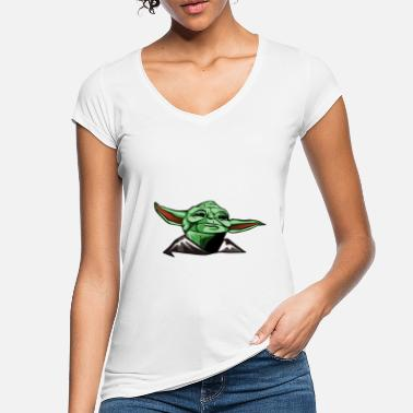 Series The Mandalorian -May the force be with you! - Women's Vintage T-Shirt