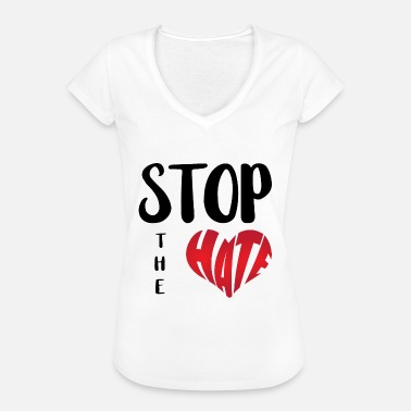 Violence Stop The Hate - Women's Vintage T-Shirt