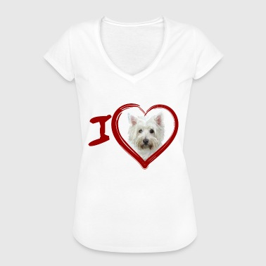 West Yorkshire West Highland White Terrier (Malen - Malen) - Frauen Vintage T-Shirt