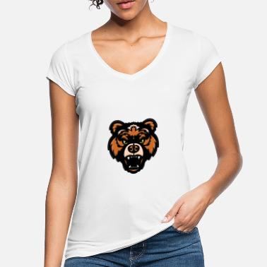 Valentinstag Bär Bär - Bear - Tier - Animal - Frauen Vintage T-Shirt
