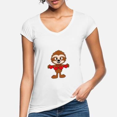 Heart Sloth - Hearts - Love - Baby - Gifts - Women's Vintage T-Shirt