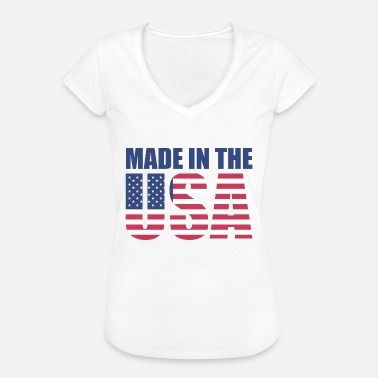 Made In Usa Made in USA - Maglietta vintage donna