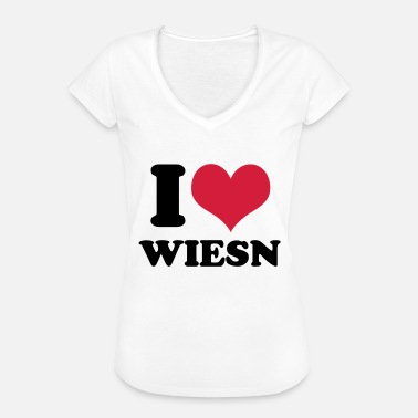 I Love Wiesn I love Wiesn - Women's Vintage T-Shirt