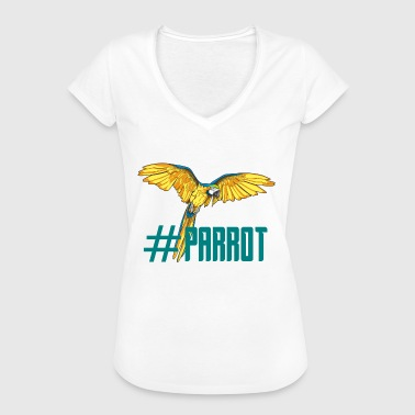 hashtag parrot english ornithology gift - Women's Vintage T-Shirt