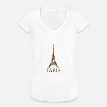 Eiffel Tower Eiffel Tower - Women's Vintage T-Shirt