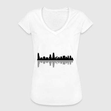 Chicago chicago skyline - Women's Vintage T-Shirt