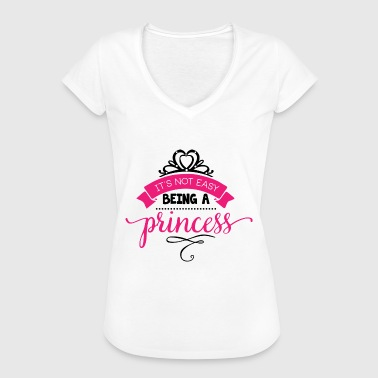Its not easy being a princess no white - Women's Vintage T-Shirt