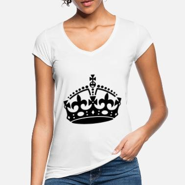 Keep Calm Crown Keep Calm Crown - Camiseta vintage mujer