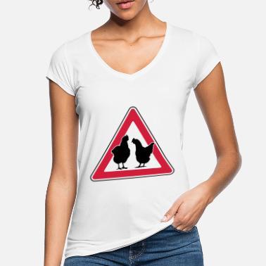 Magliette per donna a tema gallina | Spreadshirt