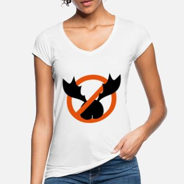 Symbol no lower back tattoo - Women's Vintage T-Shirt