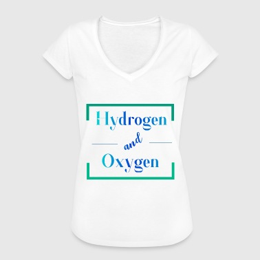 Hydrogen and oxygen - Women's Vintage T-Shirt