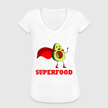 Superfood avocado vegan hero - Women's Vintage T-Shirt