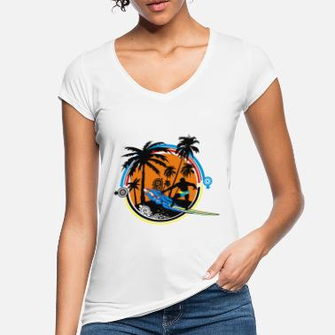 surfer - Women's Vintage T-Shirt