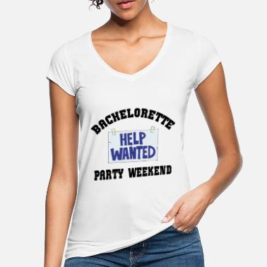 Wanted Bachelorette Party Help Wanted - Vrouwen vintage T-Shirt
