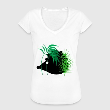 Forest Animal Hedgehog in the forest - animals - forest animals - Women's Vintage T-Shirt
