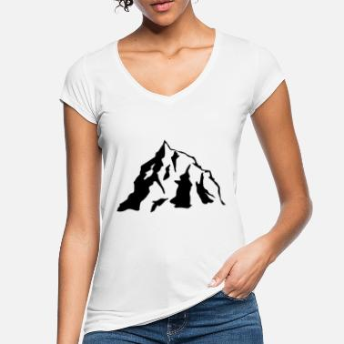 Icon Mountain Icon - Naisten vintage t-paita