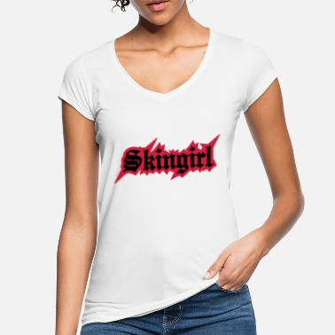 Skingirl 2 colors - Skingirl My Way of Life Skingirls - Frauen Vintage T-Shirt