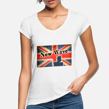 New Wave new wave - Women's Vintage T-Shirt