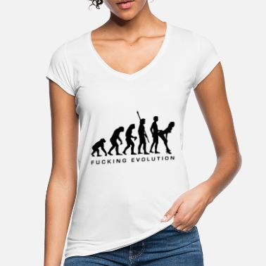 China fucking_evolution - Women's Vintage T-Shirt