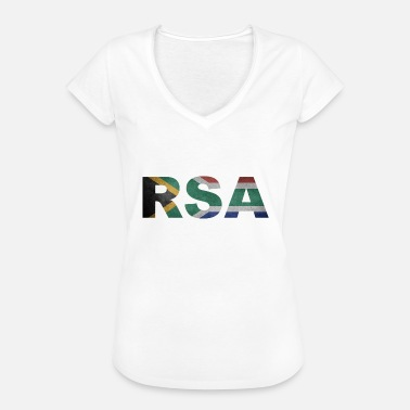South Africa Fan RSA Republic of South Africa South Africa Africa - Women's Vintage T-Shirt
