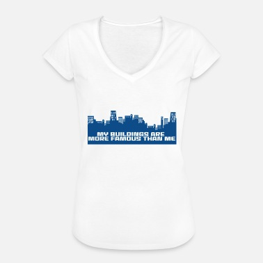 Build Architecture Architect / Architecture: My Buildings are more - Women's Vintage T-Shirt