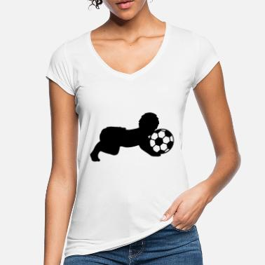 Soccer Ball Soccer Ball Baby - Vintage T-skjorte for kvinner