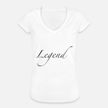 90a910d396d1 Les Legendes légende - T-shirt vintage Femme