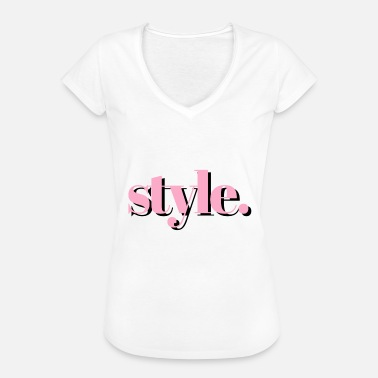 Style style - T-shirt vintage Femme