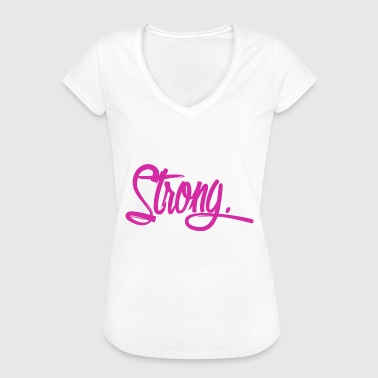 Pink Strong strong purple - Women's Vintage T-Shirt