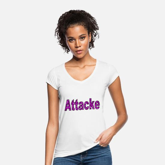 Tessellation T-Shirts - Attack 3 - Women's Vintage T-Shirt white