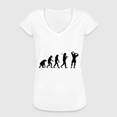 Fitness Evolution - Dame vintage T-shirt